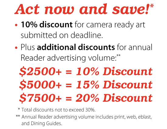 Act now and save!