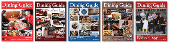 Dining Guide Covers